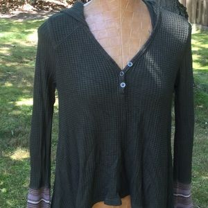 Others follow waffle knit thermal